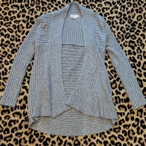 Michael Kors Shawl Collar Open Sweater